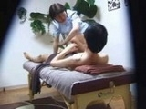 Dirty Old Man Attacks Young Hot Masseur Girl