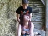 Hot Teen Girl Fucked In The Stable