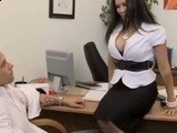Slutty Secretary Will Do Anything To Her Boss