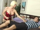 Cock Hungry Milf Abuses Her Younger Neighbor