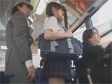 Asian Girl Entered Bus Full Of Maniacs