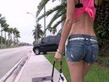 Warning, Hot Ass Babe Grabbed and Fucked Roughly
