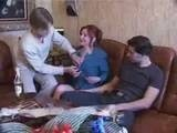 Crazy Mom Stayed Alone with Horny Boys