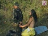 Soldier finds Poor Girl Alone in the Wood