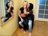 Horny Impatient Dude Grabs his Hot Girlfriend in the Hall