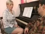 Old Piano Teacher Completely Lost His Control