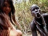 Filthy Asian Chick Fucks Entire African Tribe