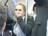 Girl Roughly Treated In Public Bus