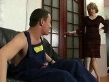 Mom Caught Repairman Jerking In Our Living room