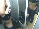 Gorgeous Babe Caught On Hidden Camera In The Changing Room