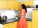 Indian Housewife Regrets Working on Something In Her Kitchen
