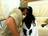 Soldier Fucks Arab Woman Arrested for Terorism
