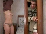Mature Housewife Caught Boy Spying On Her