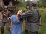 Terified Woman Captured by Enemy Soldiers