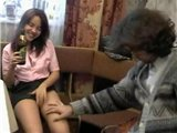 Drunk Teen Banged By Old Dirty Man