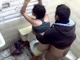 Brazilian Teen Busted fucking with Teacher in Toilet