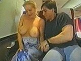 Dude Fucked Busty Milf On The Train