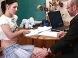 Tight Slutty Teen Clouded Mind To Dirty Teacher